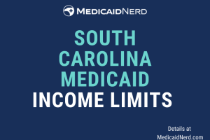 """What are the income limits for Medicaid in South Carolina"""