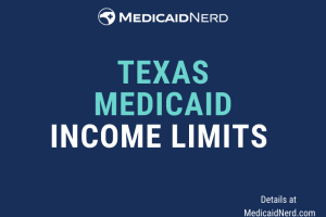 """What are the income limits for Medicaid in Texas"""