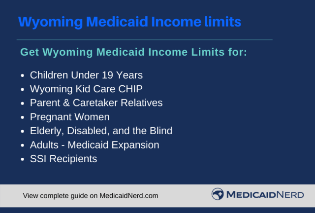 """""""Wyoming Medicaid Income Limits"""""""