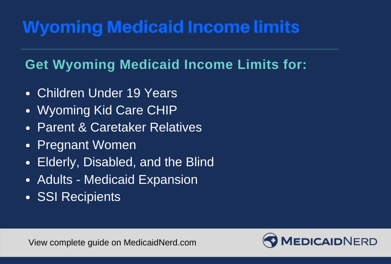 """Wyoming Medicaid Income Limits"""