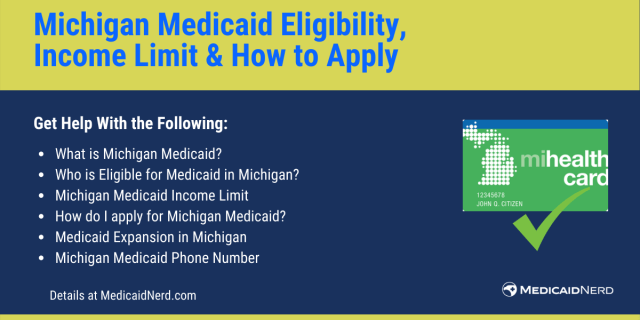 """""""Michigan Medicaid Eligibility, income limit and how to apply"""""""