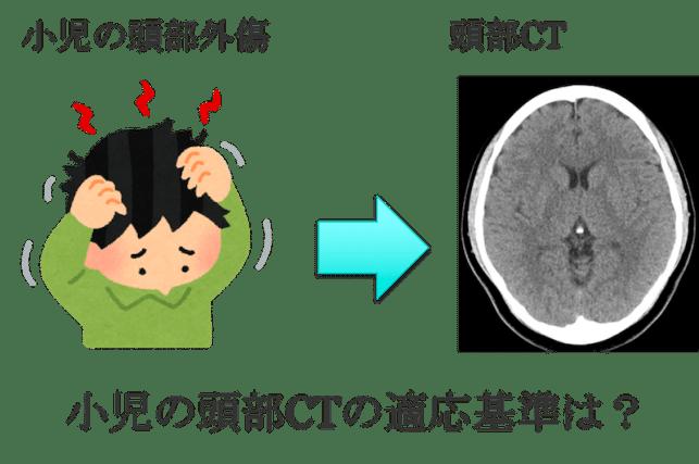 infant head CT cliteria