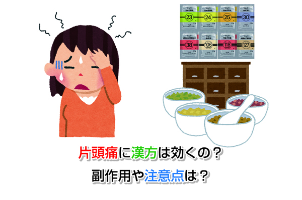 Chinese medicine to migraine Eye-catching image