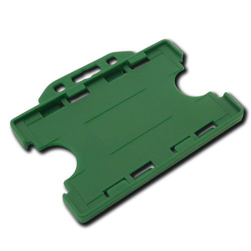 Green Double-Sided Landscape Card Holder