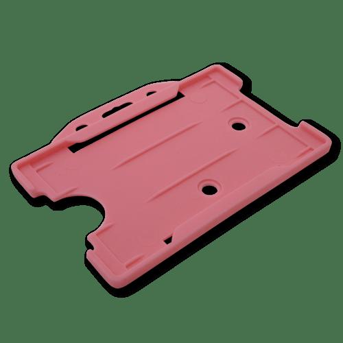 Pink Single-Sided Landscape Card Holder