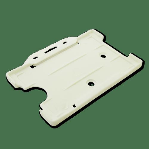 White Single-Sided Landscape Card Holder