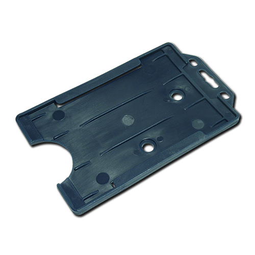 Navy Blue Single-Sided Portrait Card Holder
