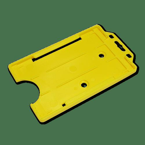 Yellow Single-Sided Portrait Card Holder