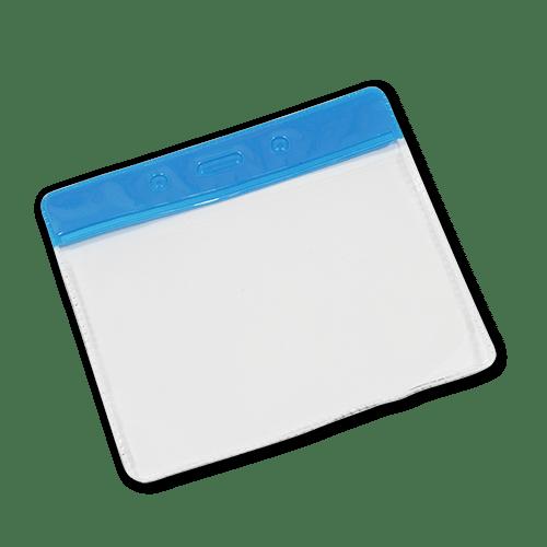 Landscape Vinyl Card Holder - Blue