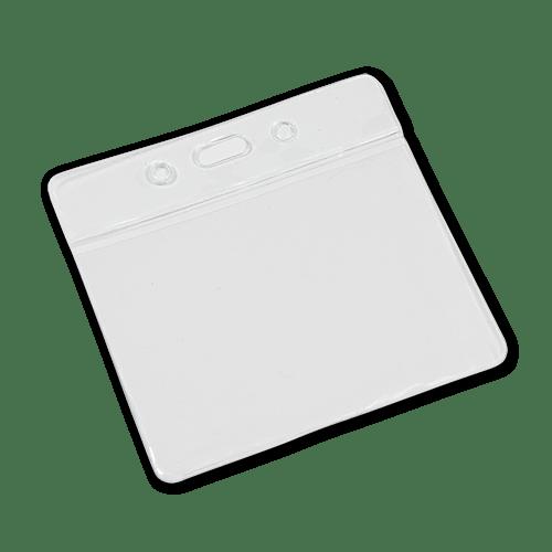 Landscape Vinyl Card Holder - Clear Top
