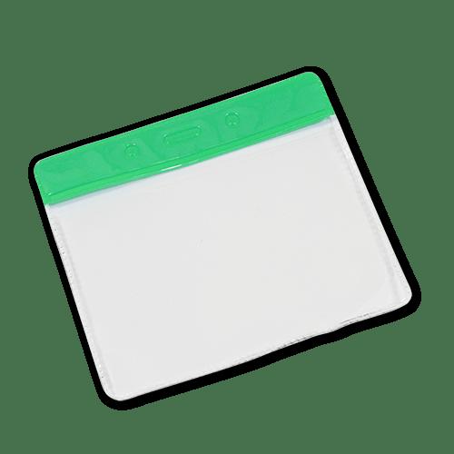 Landscape Vinyl Card Holder - Green Top