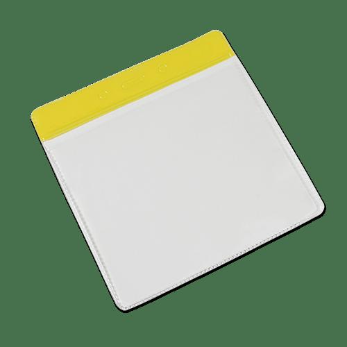 Landscape Vinyl Card Holder - Yellow