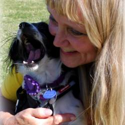 Hope loves her foster mom!