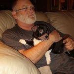 Winnie loves her foster dad