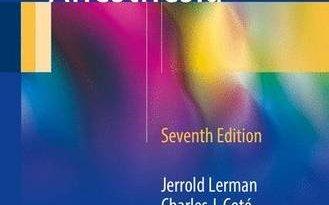 Manual of Pediatric Anesthesia