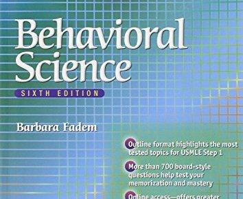 BRS Behavioral Science 6th Edition PDF