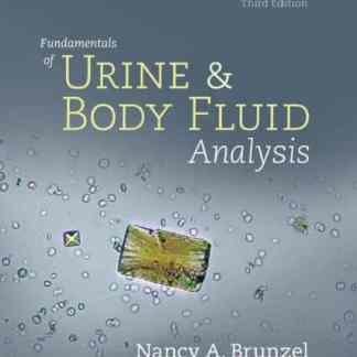 Fundamentals of Urine and Body Fluid Analysis 3rd Edition PDF