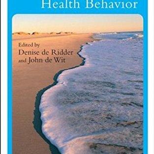 Self-Regulation in Health Behavior PDF