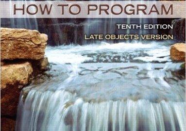 Java How To Program 10th Edition PDF