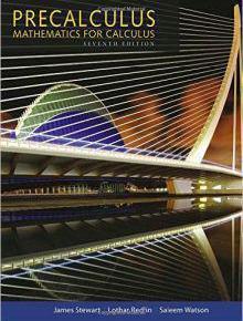 Precalculus Mathematics for Calculus 7th Edition PDF