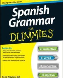 Spanish Grammar For Dummies 1st Edition PDF