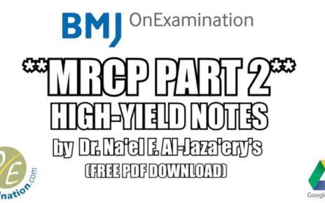 OnExamination MRCP Part 2 Notes PDF Free Download