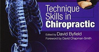 chiropractic technique pdf