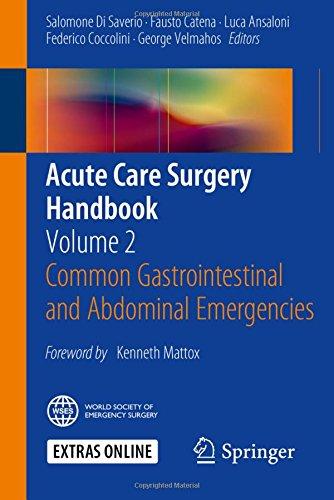 acute care surgery handbook pdf