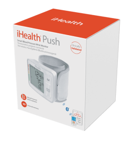 ihealth PUSH packaging