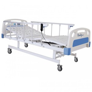 CAMA HOSPITALARIA ELÉCTRICA 3 POSICIONES BASE SEMISOLIDA – C3230-2