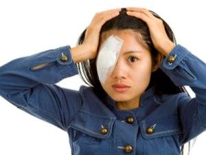 отслойка сетчатки, травма глаза