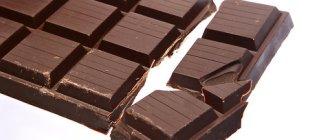 шоколад, сердце
