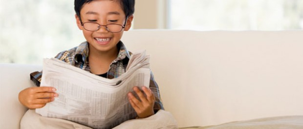 близорукость, чтение