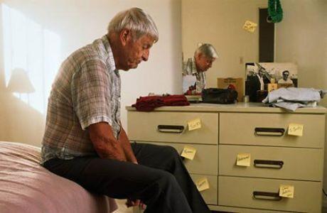 Функциональной активности мозга у больных болезнью  Альцгеймера и у лиц с повышенным риском этой патологии