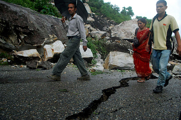 Непал, землетрясение