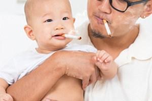 курение, ребенок, ожирение