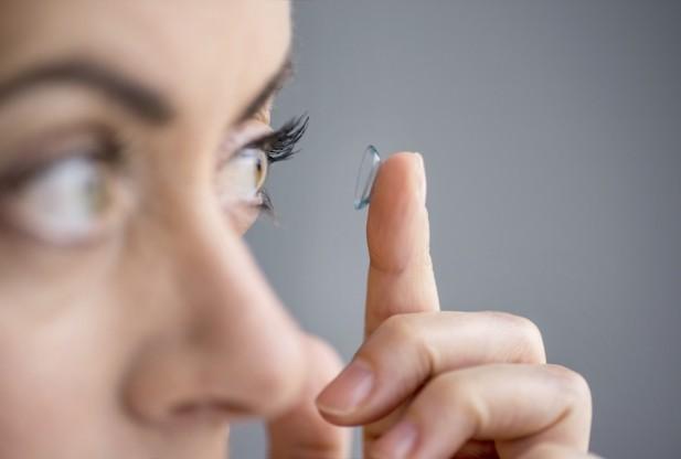 контактные линзы, глаза, микробиома