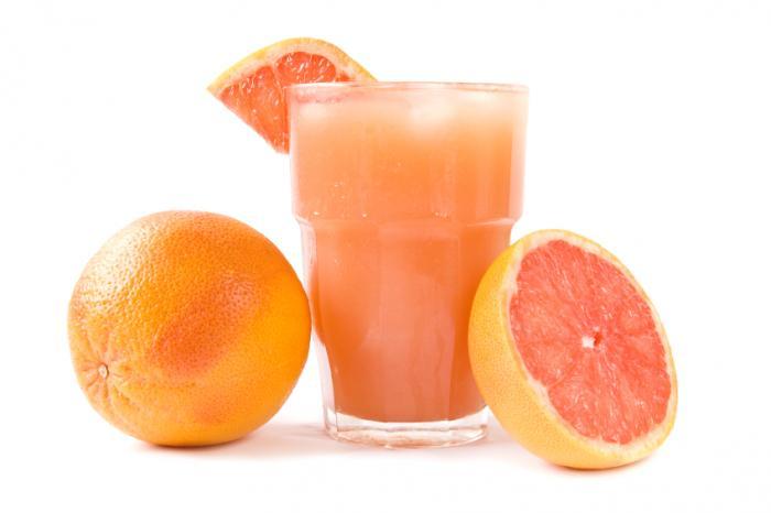 сок, грейпфрут, апельсин, меланома