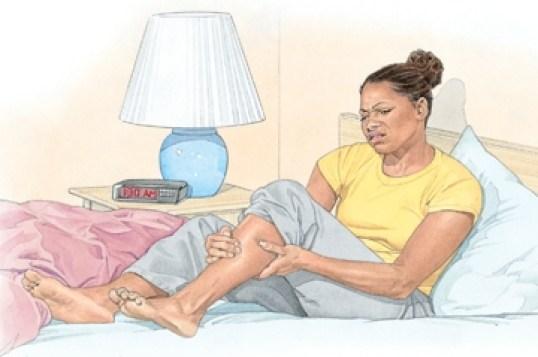 синдром беспокойства ног, заболевание сердца, почки
