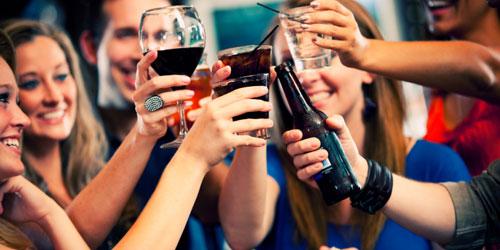 алкоголь, студенты