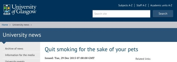 курение, домашний питомец,