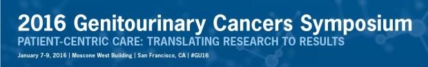 Genitourinary Cancers Symposium. 2016.