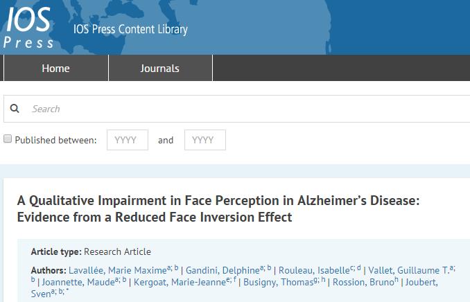болезнь Альцгеймера, Journal of Alzheimer's Disease
