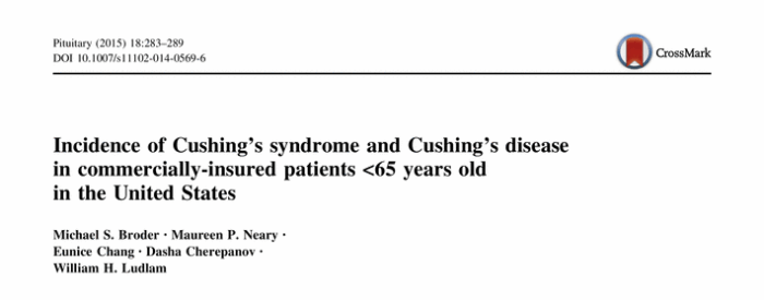 депрессия, синдром Кушинга, Pediatrics