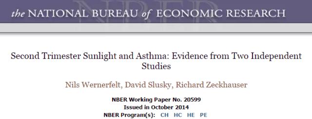 астма, American Journal of Health Economics