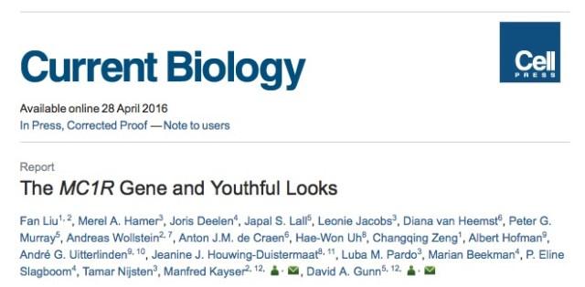 ген, старение, молодость, Current Biology
