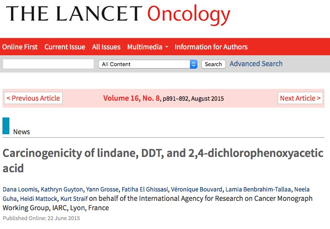 рак пищевода, The Lancet Oncology