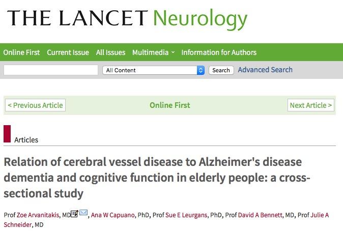 болезнь Альцгеймера, The Lancet Neurology