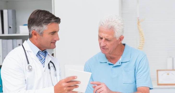 мужчина, колоректальный рак