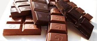 шоколад, кишечник